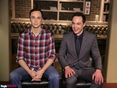 PHOTOS: Big Bang Theory Star Jim Parsons Meets His Wax Figure http://www.people.com/article/jim-parsons-wax-figure-madame-tussauds-orlando