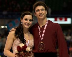 Virtue & Moir won the gold medal in the ice dance competition at Skate Canada 2013