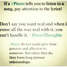 damn, just went through this 1... telling a fella to listen to a particular song. lol.