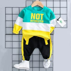Stylish Color Blocking Long-sleeve Pullover and Pants Set for Baby Boy Stylish Color Blocking Long-sleeve Pullover and Pants Set for Baby Boy - Cute Adorable Baby Outfits Baby Boy Clothes Online, Baby & Toddler Clothing, Toddler Outfits, Toddler Boys, Kids Outfits, Boy Clothing, Toddler Boy Fashion, Kids Fashion, Fashion Clothes
