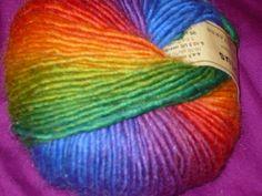 Crystal Palace Mochi Plus Yarn - 551 Intense Rainbow