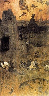 The Fall of the Rebel Angels Artist: Hieronymus Bosch Start Date: 1500 Completion Style: Northern Renaissance Genre: religious painting Technique: oil Material: panel Gallery: Museum Boijmans van Beuningen, Rotterdam, Netherlands Hieronymus Bosch, Nephilim Giants, Nephilim Bones, Jan Van Eyck, Garden Of Earthly Delights, Heaven And Hell, Dutch Painters, Oil Painting Reproductions, Renaissance Art