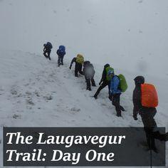 Laugavegur Trail Day one: Landmannalaugar to Hrafntinnusker - I Am a Polar Bear My Diary, Polar Bear, Iceland, Trail, Snow, Writing, How To Plan, Motivation, Reading