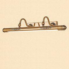 Rustiek/landelijk Vintage Modern/Hedendaags Traditioneel /Klassiek Kylpyhuoneen valaistus Voor Metaal Muur licht 110-120V 220-240V 0.5W