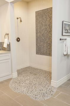 bring elements of nature to your design with stone pebbles i love pebble floors in showers