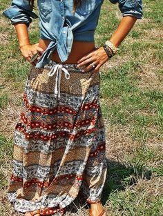 Crossroads Gypsy Skirt