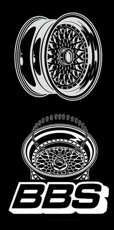 My Dream Car, Dream Cars, Vw Emblem, Bbs Wheels, Script Typeface, Tattoo Illustration, Silhouette Art, Retro Cars, Cars And Motorcycles