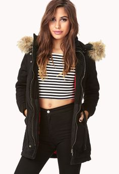Womens coats, parka, winter coats and trend coats | shop online | Forever 21 - 2000051135