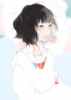 wtv lemme decide myself Girls Anime, Anime Art Girl, Art Et Illustration, Character Illustration, Amazing Drawings, Art Drawings, Art Anime Fille, Mini Mundo, Art Mignon
