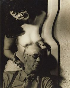 Anais Nin & Henry Miller by Man Ray (1942)