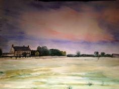 Sunset at Elm Farm  by Miranda Markham