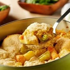 Campbell's® Slow-Cooker Chicken and Dumplings More