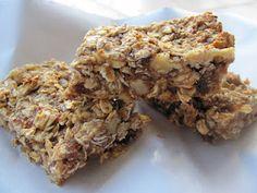 Raina's homemade granola bars