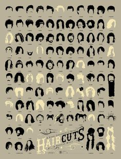 A Visual Compendium of Notable Haircuts in Popular Music. Awesome!