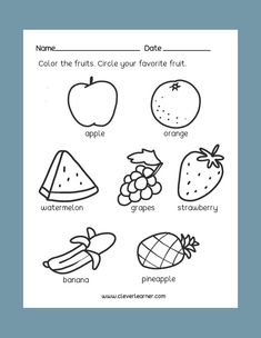 37 Best Preschool Science Activity Worksheet images in 2018 ...