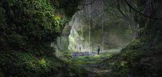 theamazingdigitalart:  Wonderful digital landscapes done by  FlorentLlamas