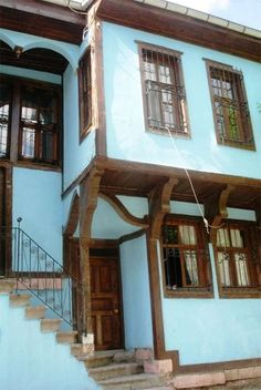 The Old Houses of Afyon, Central Anatolia, Turkey Turkish Architecture, Urban Architecture, Village Houses, Bird Houses, Turkey Country, Interesting Buildings, Turkey Travel, Door Knockers, Closed Doors