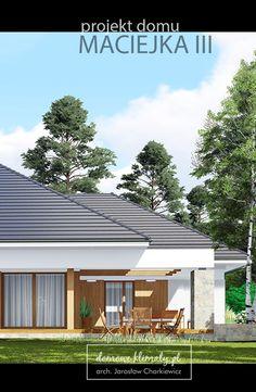 Projekt domu dla inwestorów o dużych wymaganiach, spodziewających się po swojej…