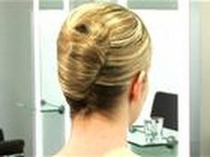 How To French Twist Hair - YouTube