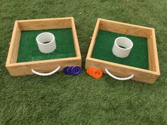 Top Quality Washer Toss Game Backyard Games, Outdoor Games, Outdoor Play, Camping Games For Adults, Camping Ideas, Washer Toss Game, Table Camping, Skee Ball, Wood Games