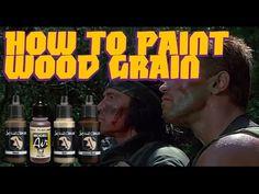 Miniature Painting Tutorial - Wood Grain