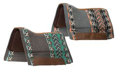 """Get in """"Sync"""" with These Classy Western Prints from Weaver Leather Western Saddle Pads, In Sync, Horse Tack, Westerns, Classy, Magazine, Prints, Leather, Bags"""