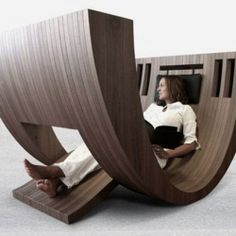 Contemporary Kosha Chair by Claudio D'amore.