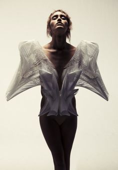 iris van herpen | Escapism' tunic - designed by Iris van Herpen and Daniel Widrig ...