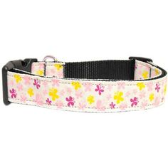 Butterfly Nylon Ribbon Collar Blue Sm This wide size small dog collar is made of durable nylon with a high quality ribbon overlay. It is adjustable to fit a neck size from Product Summary . Large Dogs, Small Dogs, Dog Accesories, Accessories, Puppy Collars, Medium Dogs, Take That, Ribbon, Butterfly