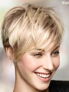 & Chic: These 10 short hairstyles are really too beautiful not to even try! - Page 8 of 10 - Hairstyles Apart & Chic: These 10 short hairstyles are really too beautiful not to even try! - Page 8 of 10 - Hairstyles Cute Hairstyles For Short Hair, Summer Hairstyles, Short Hair Cuts, Straight Hairstyles, Short Hair Styles, Beautiful Hairstyles, Shaggy Pixie Cuts, Short Choppy Haircuts, Short Blonde Pixie