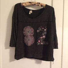 Free people shirt Adorable free people shirt! Free People Tops