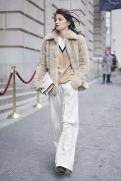 Pin for Later: These Street Style Pros Will Get You Out of Your Winter Outfit Rut NYFW Day Four Maria Duenas Jacobs