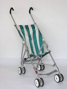 This is the type of stroller my parents wheeled me around in during the None of that safety padded, 20 different mechanisms nonsense. Nostalgia, Vintage Pram, Retro Vintage, Best Prams, Prams And Pushchairs, Umbrella Stroller, Retro Kids, Sweet Memories, Old Toys