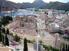 Roman Theatre, Cartagena © Robert Bovington