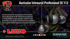 La Púa San Miguel: Auricular Intraural Profesional SHURE SE 112-GR-EP...