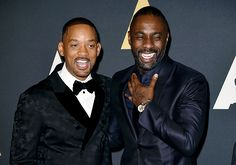 Sexy actors Will and Idris...!!!