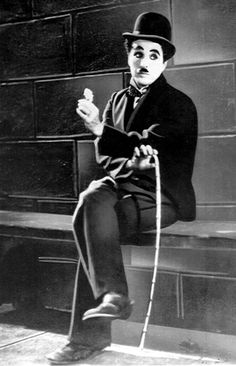 A friend just told me Charlie Chaplin once entered a Charlie Chaplin lookalike contest — and placed third.