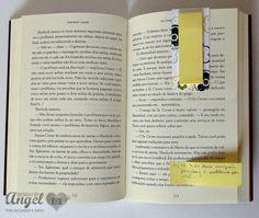 Marcador de livros com post it!
