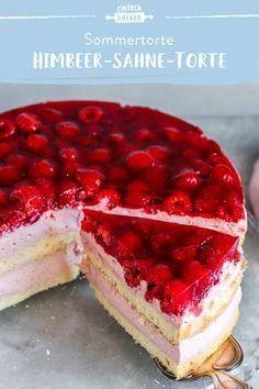 Pie Recipes, Sweet Recipes, Chocolate Naked Cake, Mascarpone Creme, Creme Brulee, Summer Desserts, Cheesecake, Sweets, Raspberry