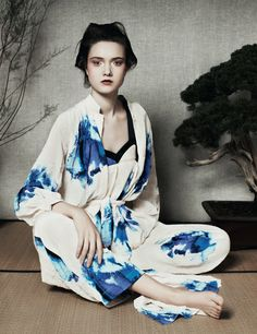 YUMI LAMBERT BY BEN TOMS FOR ANOTHER SPRING/SUMMER 2013