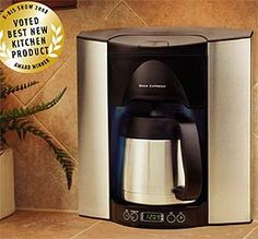 Images of kitchen ideas for coffee machines bing images for Apartment therapy coffee maker
