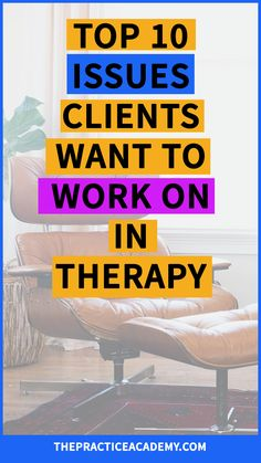 Are you a therapist who wants to boost their online marketing, get more referrals from therapist directories and attract more clients? Find out what clients want to work on most in therapy so that you can understand what they are looking for and market your skills accordingly. Click through to read the whole post and download the full list!