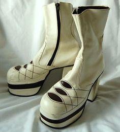 70's platform boots