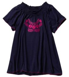 Harper Canyon Ruffle Sleeve Top (Little Girls) 6b6e4602a