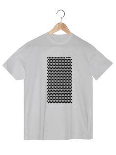 Camiseta en algodón orgánico en color blanco para chico VLBH  www.strambotica.es