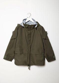 Spiked Utility Jacket