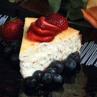 Goat and Cream Cheesecake