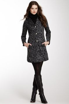 Print Long Sleeve Jacket by Papillon on @HauteLook