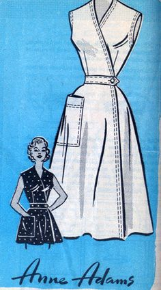 Vintage 50s Anne Adams Mail Order pattern 4743 by sandritocat, $22.00