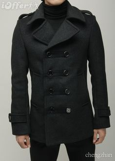 For him: Dior men's pea coat